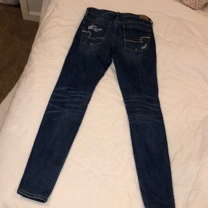 American Eagle Outfitters Jeans - Dark skinny ripped American Eagle Jeans
